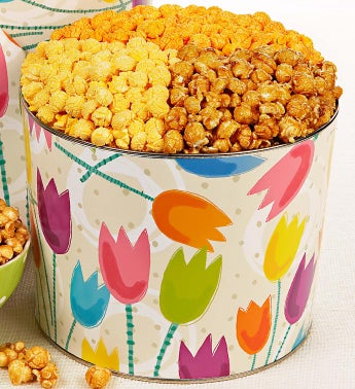 2 Gallon Tulips 3-Flavor Popcorn
