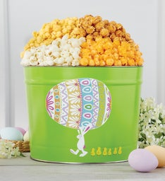 Easter Egg Parade  Gallon Popcorn Tin
