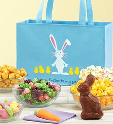 Easter Egg Parade Tote Bag