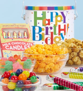 Big Birthday Fun Pail by The Popcorn Factory