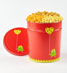 Really Red Popcorn Tin 2 Gallon