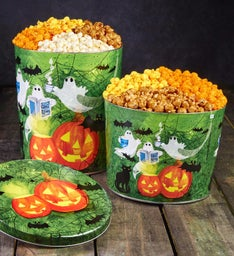 Ghost Stories 2 Gallon 3-Flavor Popcorn Tin