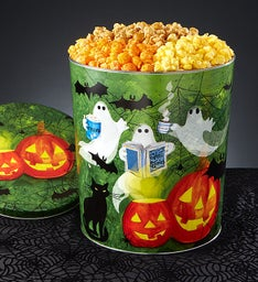 Ghost Stories 3-1/2 Gallon 3-Flavor Popcorn Tin
