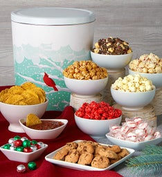 Crimson Cardinal Deluxe Snack Assortment