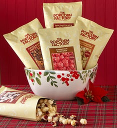 Ceramic Bowl Popcorn Assortment