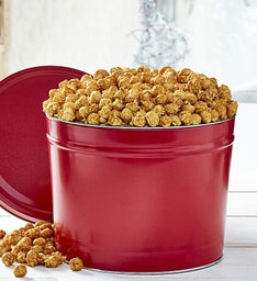 Simply Red 2 Gallon Pick-A-Flavor Popcorn Tins