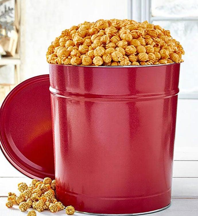 Simply Red  Gallon PickAFlavor Popcorn Tins