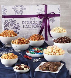 Snowflake Snackers Choice Gift Box