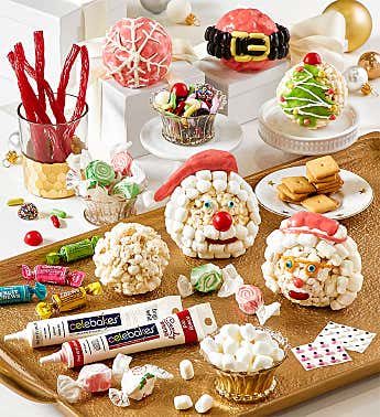 Holiday Popcorn Ball Decorating Kit