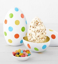 Mini Easter Egg Shape Tin
