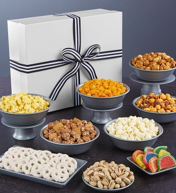 Simply White Jumbo Snack Sampler - Congratulations