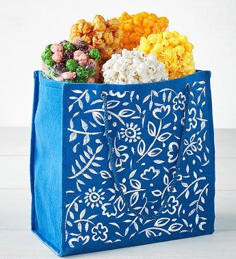 Spring Batik Tote Popcorn Assortment