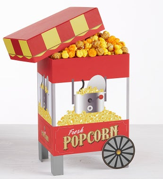 Popcorn Cart Gift Box