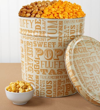 3-1/2 Gallon Popcorn Lovers Pick-A-Flavor - Cheese Popcorn