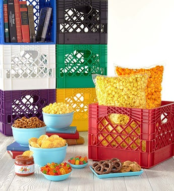 Snack Crate Sampler - Red Crate