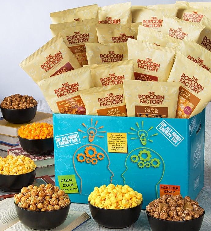 Up All Night Popcorn Sampler
