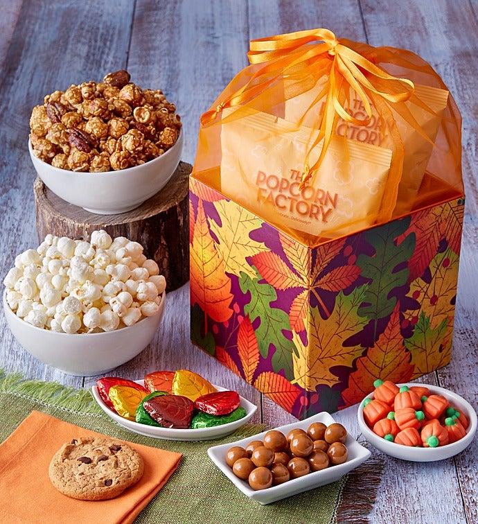 Autumn Organza Gift Box