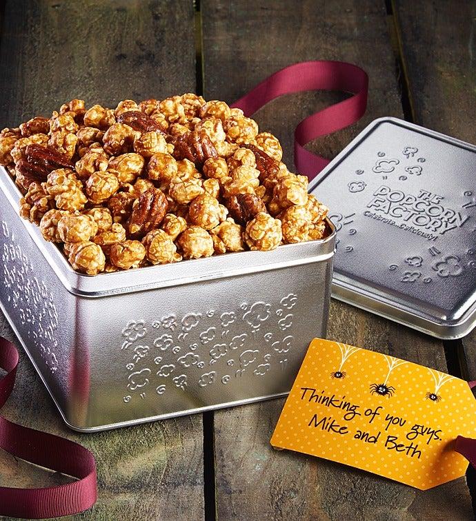 Pumpkin Caramel Praline Crunch Gift Tin