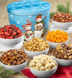 Starlight Snowman Popcorn Assortment