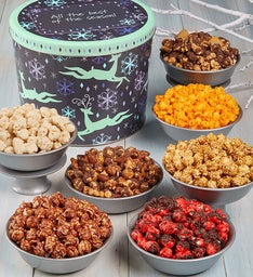 Dancing Reindeer Popcorn Assortment