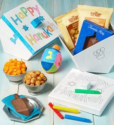 Decorate Your Own Dreidel Gift Box