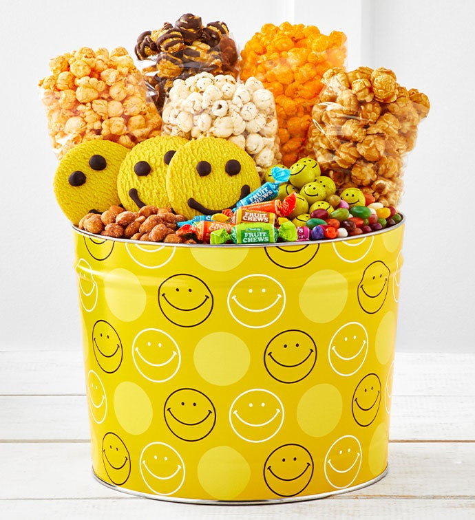 Smiley Dot  Gallon Grand Snack Assortment