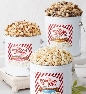 Popcorn Lovers Flavor Of The Month Club - Start Me In November (Pumpkin Spice)
