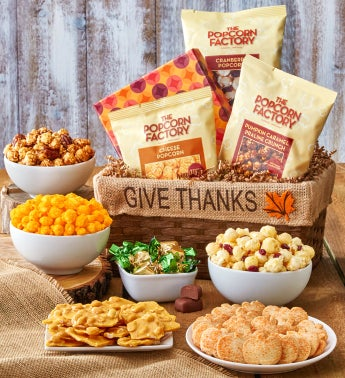 Gourmet Give Thanks Gift Basket