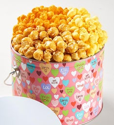 Love Out Loud 3-Flavor Popcorn Pail