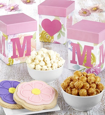 Mom Heart Shaped Gift Boxes - Mom Boxes