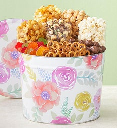Fancy Floral Snack Assortment