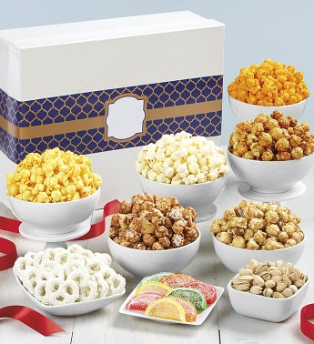 Simply White Jumbo Snack Sampler - Happy Birthday Jumbo Sampler