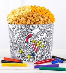Creative Color  Gallon Popcorn Tin