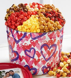 Forever Hearts Grand Popcorn Assortment
