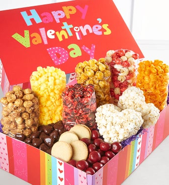 Happy Valentines Day Ultimate Snack Assortment