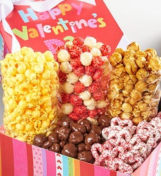 Happy Valentine's Day Petite Snack Gift Box