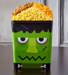 Monster Mash Frankenstein 3 Gallon Popcorn Tin