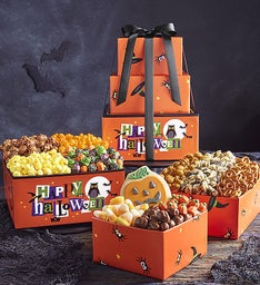 Happy Halloween 3 Tier Tower