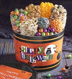 Happy Halloween 2 Gallon Grand Snack Assortment