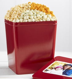 Gallon Zesty Trio  Flavor Popcorn Tin