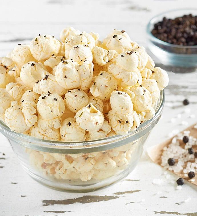 Cracked Pepper  Sea Salt Popcorn