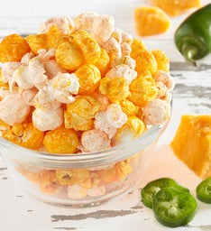 Cheezy Jalapeo Popcorn