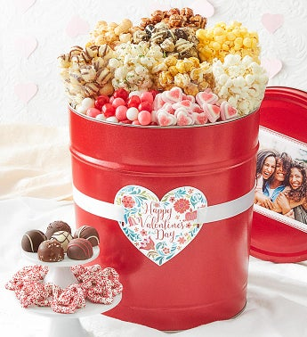 Happy Valentine's Day 3 1/2 Gallon Premium Snack Assortment
