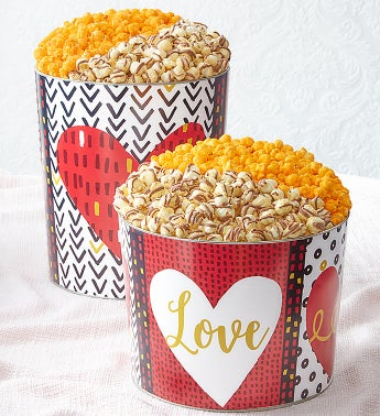 Wild About You Deluxe Popcorn Tins