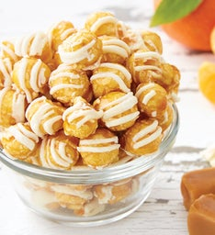 Tangerine Vanilla Caramel Special Edition Popcorn
