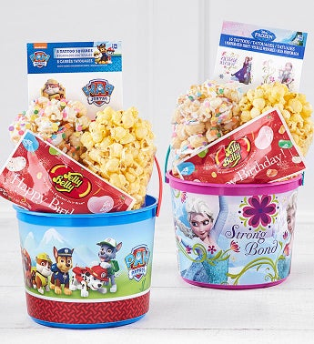 New! Disney Frozen or Paw Patrol Buckets