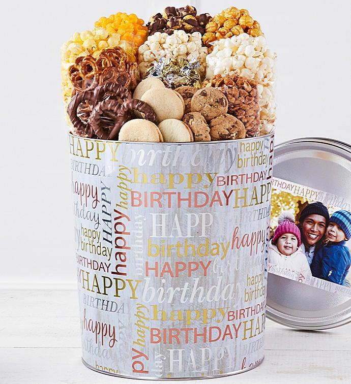 Birthday Brilliance Premium Snack Assortment 3 1/2-Gallon by The Popcorn Factory