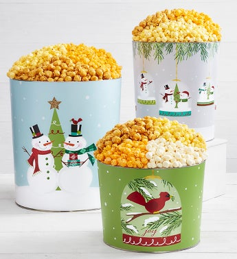 Magical Holiday Popcorn Tins