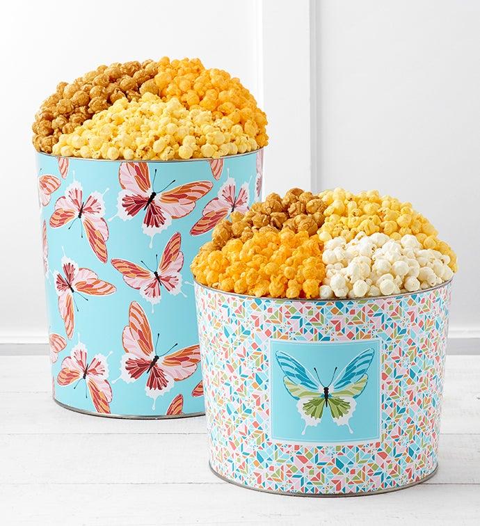 Butterflies Unleashed Popcorn Tins