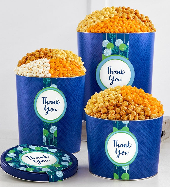 New Thanks A Bunch Popcorn Tins